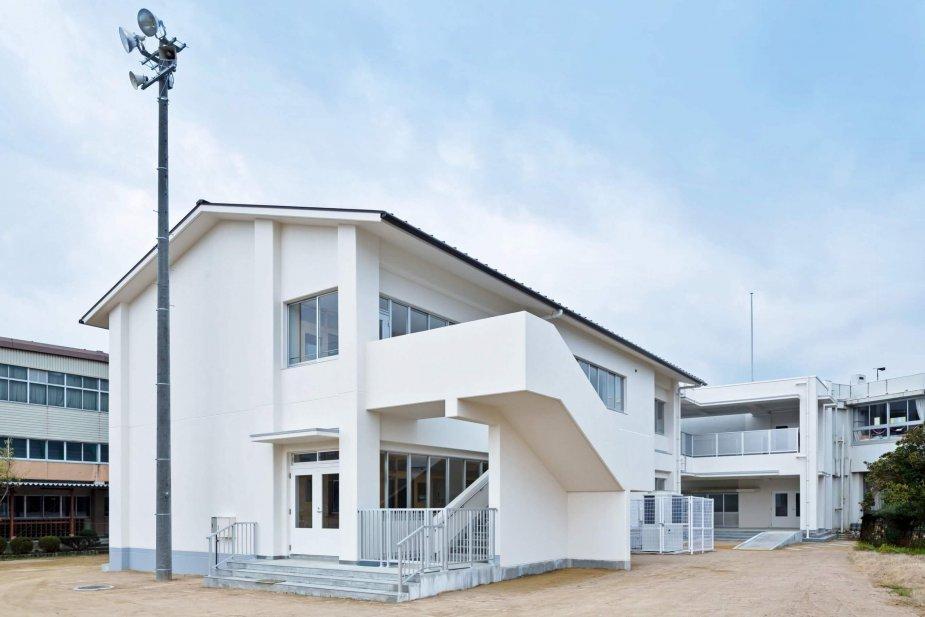 上田上小学校普通教室棟新築ほか工事